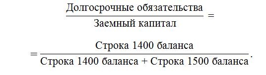 расчет долговой нагрузки формула
