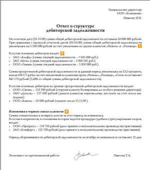 письмо о просроченной дебиторской задолженности образец - фото 7